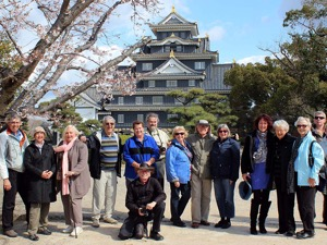 Toursgallery Group at Okayama Castle